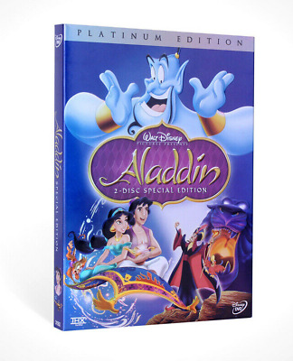 Aladdin (DVD, 2004, 2-Disc Set, Special Edition) New