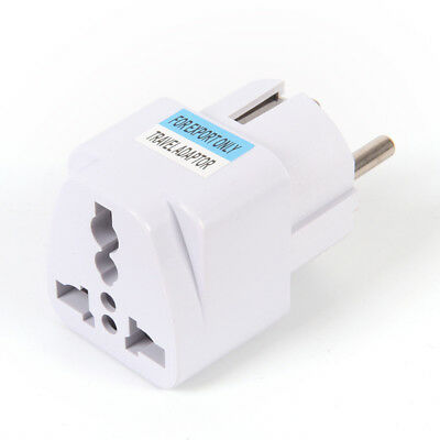 USA US UK AU To EU Europe Travel Charger Power Adapter Converter Wall Plug 0yw