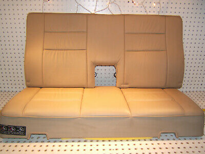 Mercedes W124 90-96 Wagon 300TE,320 rear Leather PARCHMENT bench 2 Piece 1 Seat