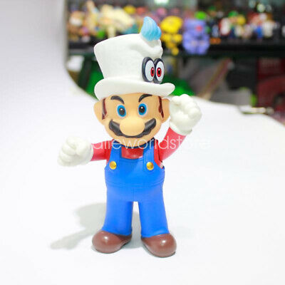 Super Mario Odyssey Figure Mario with Cappy Evening Suit Costume Doll Toy 5/""