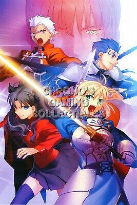 RGC Huge Poster Stay Night Anime Poster Glossy Finish ANI045 Fate