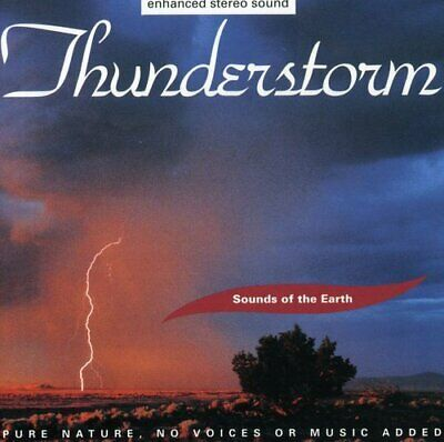 Sounds Of The Earth: Thunderstorm Various New Cd