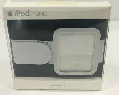 New Genuine Apple iPod Nano Video 130MB 3rd Generation Gray White Armband Run