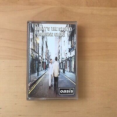 Oasis What's The Story Morning Glory Cassette Tape C CRE 189