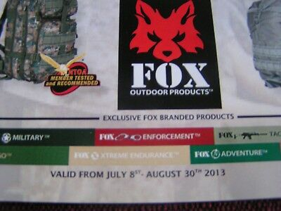 2013 Fox Outdoor Products Bags Packs Price Brochure