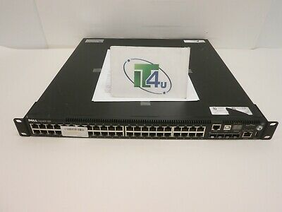 Dell Force10 S55T-AC 48-Port Managed Gigabit Switch Tested and Factory Reset