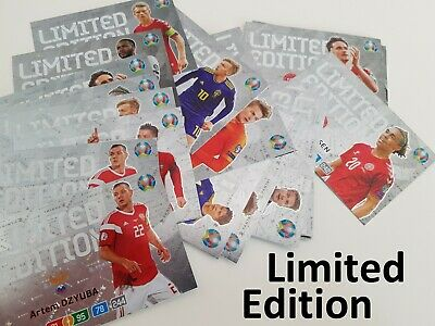 Panini Adrenelyn XL. EURO 2020 - LIMITED EDITION + NORDIC HEROES (Olsen, Larsson