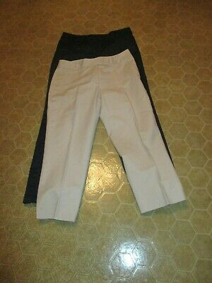 """Charter Club""- Women's Pants in Size 12 - Lot of 2 - (Navy and Ivory)"