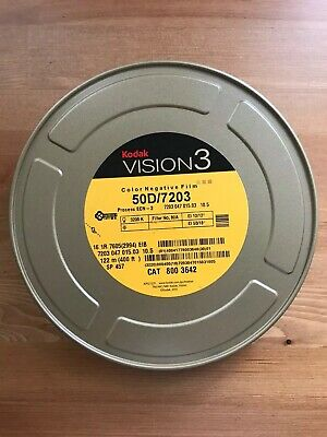 KODAK 16MM VISION3 COLOR NEG. MOVIE FILM 50D / 7203 400ft *NEW/STORED COLD