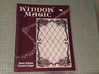 Window Magic Stained Glass Pattern Book Donna Schulze