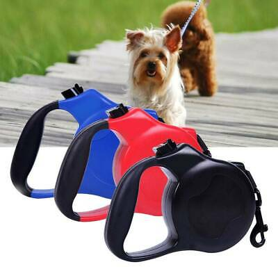 All Pet Solutions Retractable Dog Lead Extending Leash Tape Cord 8m Max 50kg