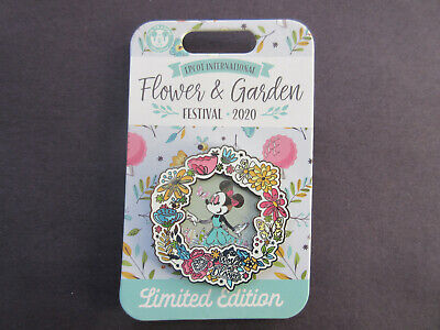 2020 Disney~ EPCOT FLOWER & GARDEN  Minnie Mouse World in Bloom  LE Pin