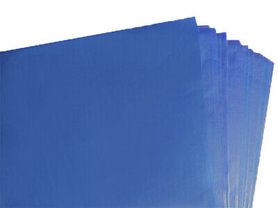 BRAND NEW ROYAL BLUE COLOURED ACID FREE TISSUE PAPER 375mm x 500mm / TOP QUALITY