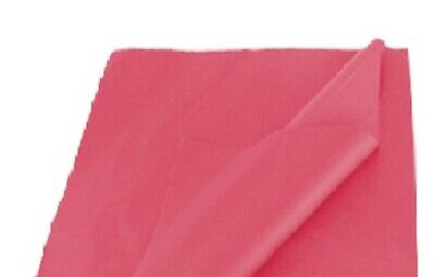 BRAND NEW CERISE PINK COLOURED ACID FREE TISSUE PAPER 375mm x 500mm/ TOP QUALITY