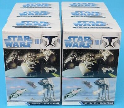 F-toys Star Wars - Vehicle Collection 2 - FULL SET of 6 - Trading Kit - MIB 2009