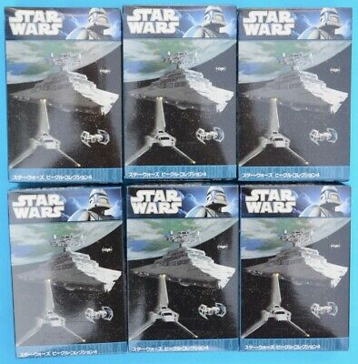 F-toys Star Wars - Vehicle Collection 4 - FULL SET of 6 - Trading Kit - MIB