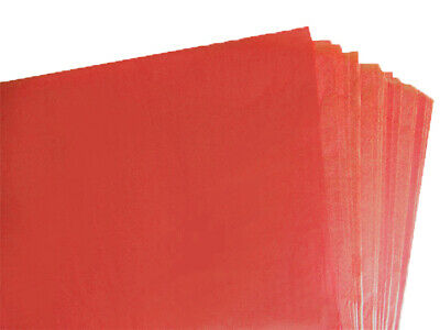 BRAND NEW RED COLOURED ACID FREE TISSUE PAPER 375mm x 500mm/ TOP QUALITY