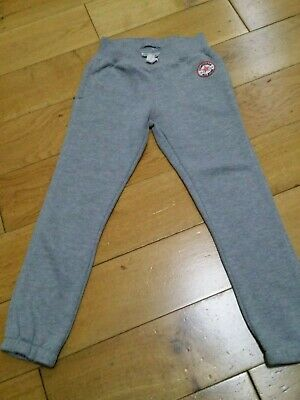Converse All Star Girls Jogging Bottoms Joggers Grey Age 5-7 Years 110-116Cm