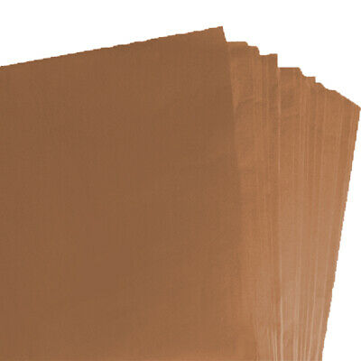 BRAND NEW BROWN COLOURED ACID FREE TISSUE PAPER 375mm x 500mm/ TOP QUALITY