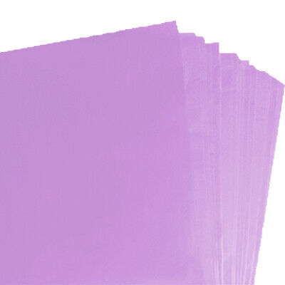BRAND NEW LILAC COLOURED ACID FREE TISSUE PAPER 375mm x 500mm/ TOP QUALITY