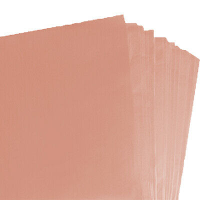 BRAND NEW PEACH COLOURED ACID FREE TISSUE PAPER 375mm x 500mm/ TOP QUALITY