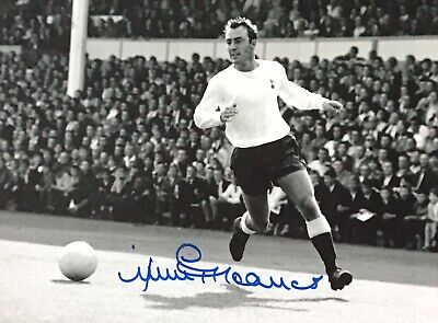 Jimmy Greaves Authentic Signed Spurs 16X12 Photo Aftal#198