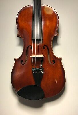 Fantastic sound, very good old French violin c1840,VIDEO!