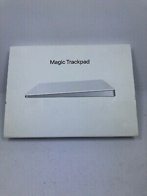 Apple Magic Trackpad 2 MJ2R2LL/A A1535 Wireless Bluetooth Rechargeable - WHITE.