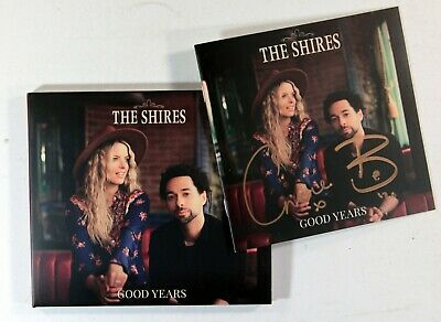 The Shires - Good Years (Limited CD with booklet Signed by the band) New