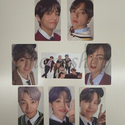 BTS [ MAP OF THE SOUL : 7 ] ALBUM VERSION 4 Official PHOTOCARD + Tracking No.