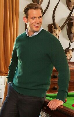 Chester Barrie Cashmere and Merino Wool Jumper/ Sweater (Savile Row). RRP £90