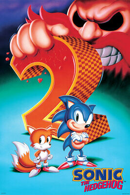 SONIC THE HEDGEHOG 2 POSTER - 24x36 - VIDEO GAME 54058