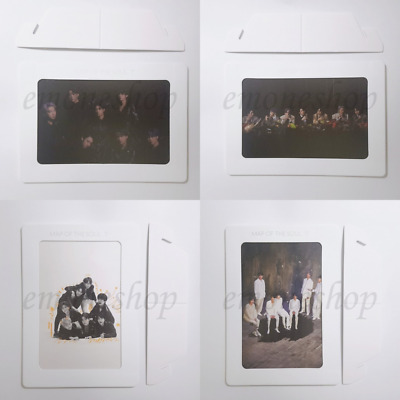 BTS [ MAP OF THE SOUL : 7 ] ALBUM Weply Benefits Photo Frame Set + Tracking No.