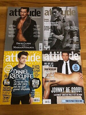 4 x Issues of Attitude Gay Lifestyle Magazine