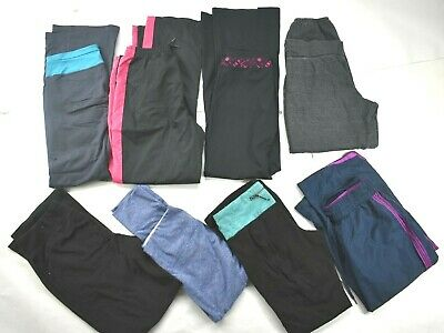 Wholesale Lot of 8 Womens Size Small Mixed Brands Casual Sport Athletic Pants