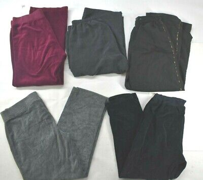 Wholesale Lot of 5 Womens Sz Medium Mixed Brands Everyday Athletic Sport Bottoms