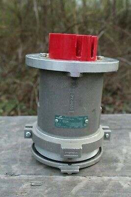 Crouse Hinds Ar2041-M80 Female Receptacle 200A 600Vac-250Dc 4W 4P Cover