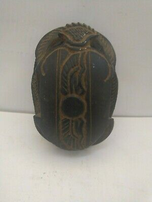 RARE ANCIENT EGYPTIAN ANTIQUE Scarab 1658-1254 BC