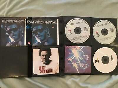 3 CD 1990 Bruce Springsteen The Saint Incident & Main Point Shuffle Import Magic