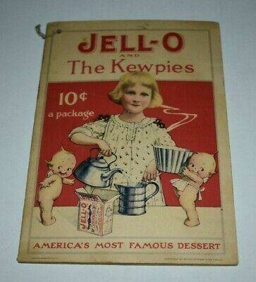 1915 Jell-o JELLO and The Kewpies Recipe Booklet