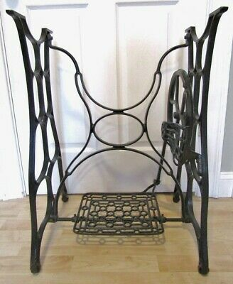 "ANTIQUE TREADLE SEWING MACHINE BASE/LEGS ""NEW IDEAL"" BY NEW HOME.EARLY 1900's"