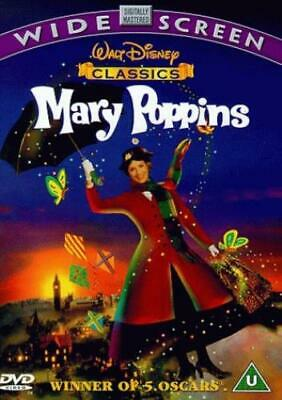 Mary Poppins DVD (1999) Julie Andrews, Stevenson (DIR) cert U Quality guaranteed
