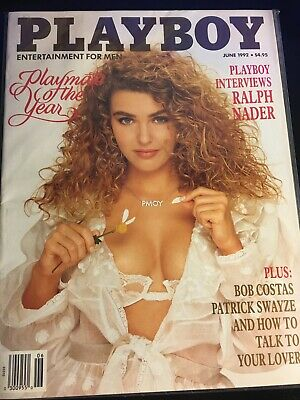 Playboy Magazine June 1992 - Playmate Of The Year! Bagged!!