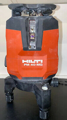 Hilti PM 40 MG Multi Line And Point Laser (green) Used For Spare Or Repaire