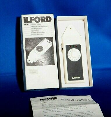 Ilford Em10 Exposure Monitor