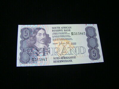 South Africa 1978-94 5 Rand Banknote Gem Uncirculated Pick #119c