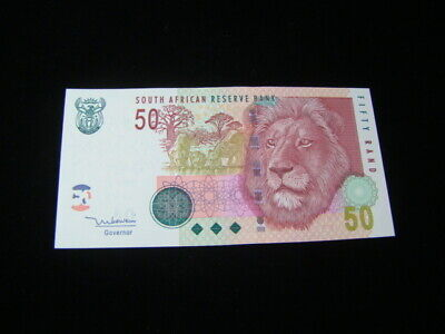 South Africa 2005-10 50 Rand Banknote Gem Uncirculated Pick #130a