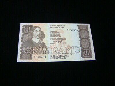 South Africa 1984-93 20 Rand Banknote Gem Uncirculated Pick #121a Nice!!
