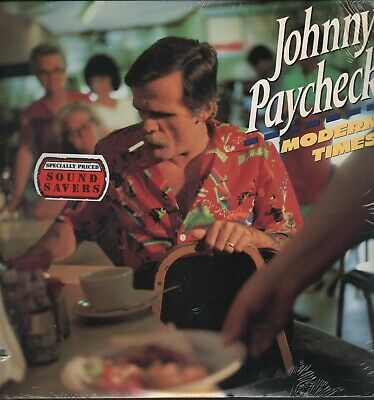"""Johnny Paycheck - Modern Times - Factory Sealed 12"""" Lp New Old Store Stock Rare"""