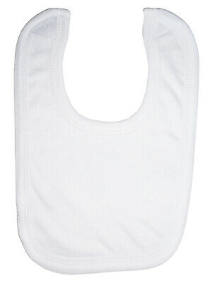 White Interlock Bib